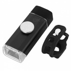 Kitbon K1 USB Rechargeable Water Resistance Bicycle Headlight - Black