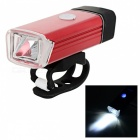 Kitbon K1 USB Rechargeable Waterproof Bicycle Headlight - Red