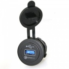 IZTOSS Quick Charge QC2.0 USB Socket for Car Motorcycle (12~24V)
