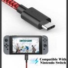 GameWill Type C to USB 2.0 3A Charging Cable for Nintendo Switch