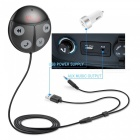Smart Mini Auto MP3 Player Bluetooth FM Transmitter - Grau + Schwarz