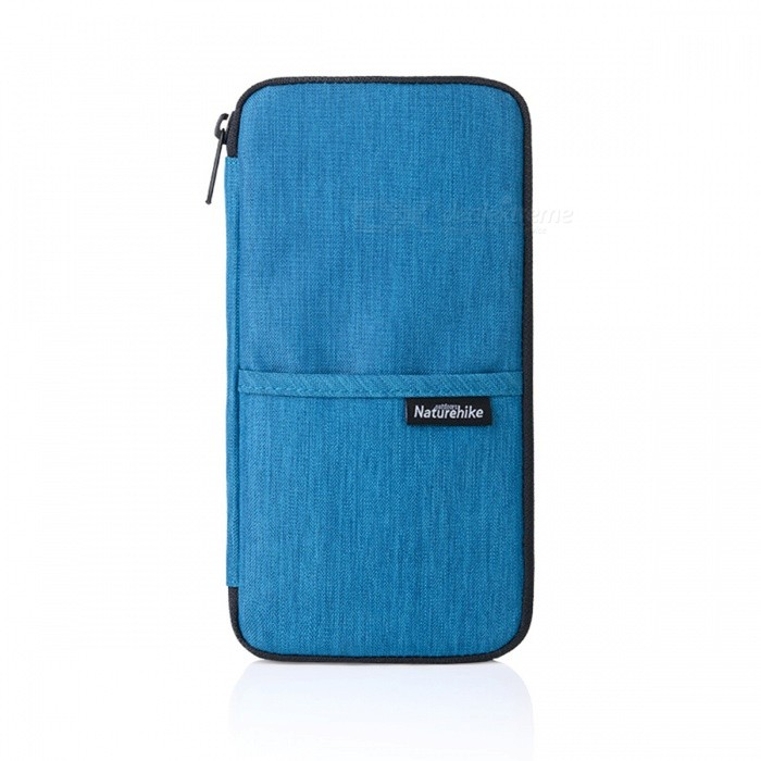 Naturehike Multi-purpose Card / Money / Passport Storage Bag - BlueForm  ColorBlueModelNH17C001-BQuantity1 DX.PCM.Model.AttributeModel.UnitMaterialPolyesterCapacity0TypeMultitools,Passport Wallets,Travel WalletsPacking List1 x Passport wallet<br>