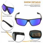 MOBIKE Polarized REVO UV400 Protection Cycling Goggles Sunglasses