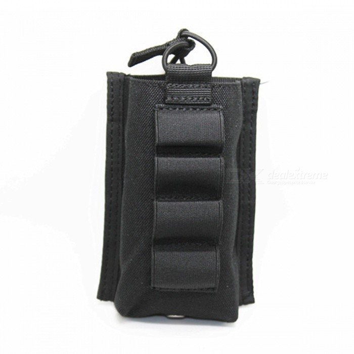 Outdoor Multifunctional Ammo Clip Storage Bag - Black