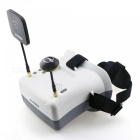 JJRC JJPRO-F02 5.8G FPV Head-mounted Display Goggles - White + Black