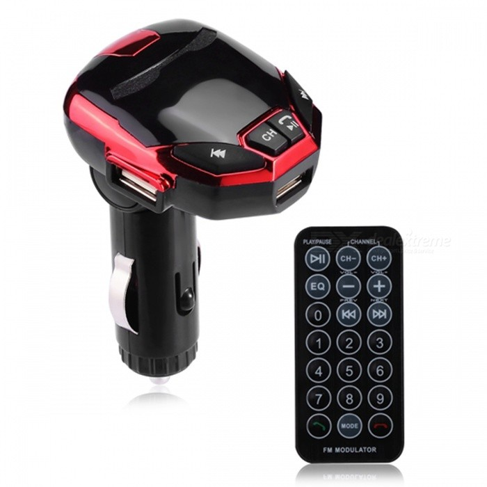Bluetooth Car Kit FM Transmitter MP3 Player USB Charger