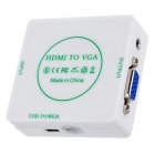 BSTUO Mini 1080P HDMI to VGA Converter - White