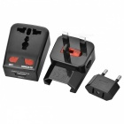 BSTUO Universal World Travel Charger avec port USB unique - Noir