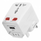 BSTUO Universal World Travel Charger w/ Single USB Port - White
