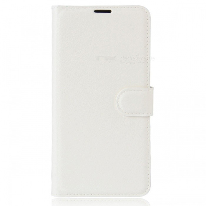 PU Leather Wallet Case w/ Stand�� Card Slots for Xiaomi 6 - White