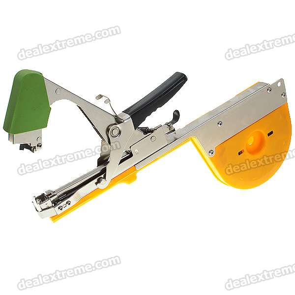 Hand Tying Machine Tape Tool (Green + Orange)