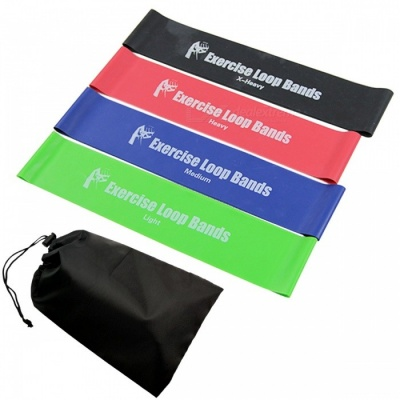Exercise Resistance Loop Bands/Elastic Band Set/ for Fitness & Workout