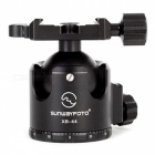SUNWAYFOTO XB-44 Low-Profile Tripod Ball Head for DSLR Camera - Black