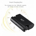 X2T Mini Invisible Bluetooth V4.2 Stereo Earphone w/ Charger - Black