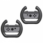 2Pcs Joy-con Steering Wheel Grip Handle Controller for Nintendo Switch