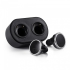 Bluetooth True Wireless Stereo Earbuds Mini oreillettes intra-auriculaires - Noir