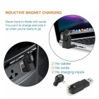 Mini Invisible Bluetooth Wireless Earbud w / Magnetic USB Charger