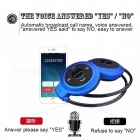 Mini503-TF Wireless Stereo Bluetooth Earphone Sport Headset - Blue