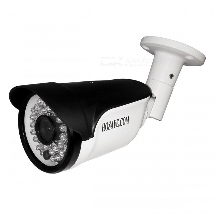 HOSAFE 2MB8P 1080P POE Outdoor Bullet IP Camera (US Plugs)