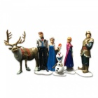 6-Piece Simulation Animation Character Model for Decoration (6 PCS)