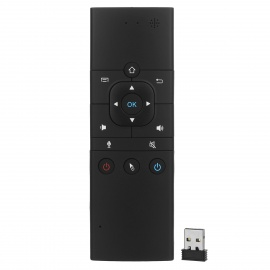 BLCR 6-Axis Air Mouse + Keyboard Remote Control w / Mic Voice