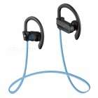 LE ZHONG DA CX-2 Smart Earhook Bluetooth Headset - Schwarz + Blau