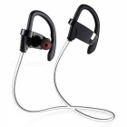 New LE ZHONG DA CX-3 Smart Bluetooth Earphone w/ Light - Silver White