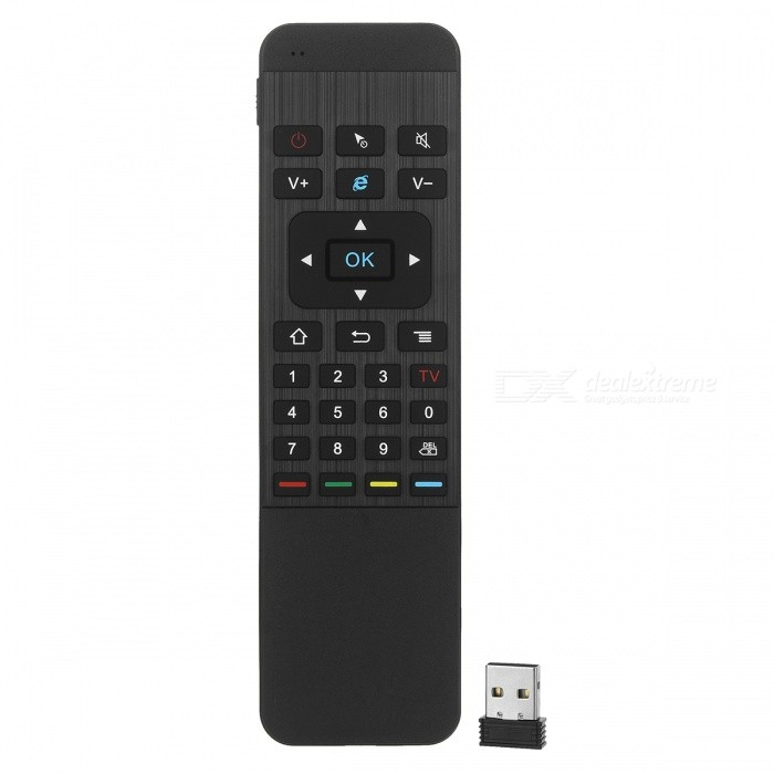b8afd19025f Best price 15.65 $ BLCR 2.4GHz Double Keyboard Wireless Air Mouse w/ Remote  Control DealExtreme