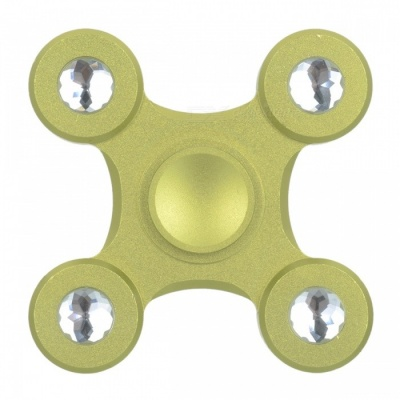 BLCR Tri-Spinner Fidget Toy EDC Hand Spinner for Autism & ADHD - Green