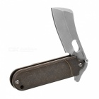 FURA Titanium Alloy + S35VN Power Steel Clasp Knife - Earth Yellow