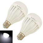 YouOKLight E27 3W 6-SMD5730 Cold White LED Bulb Lamps (2 PCS)