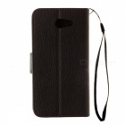 Dayspirit Lychee Grain Style Leather Case for Samsung Galaxy J7 (2017)