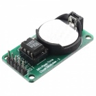 Hengjiaan RTC DS1302 Real Time Clock Module - Green + Silver