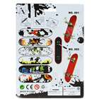 Finger Skateboard/Fingerboard Set (Style Assorted)