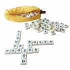 English Alphabet Banana Spelling Game Chess Puzzle Toys (144pcs)