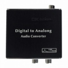 Digital Optical Coaxial Toslink Signal zum analogen Audio Converter