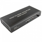 HDMI Audio and Video Separator - Black (US Plugs)