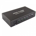 TosLink 4-In 1-Out Switcher mit Fernbedienung (US-Stecker)