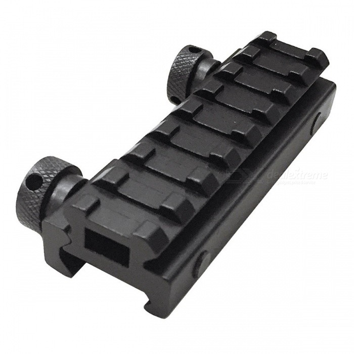 ACCU 8-Slots Picatinny Weaver Rail Riser Mount for 20mm Rail Guns