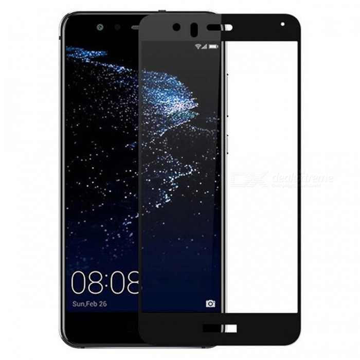 Dazzle Colour Full Screen Protector Tempered Glass for Huawei P10 LiteScreen Protectors<br>Form  ColorBlack (1Pcs)Screen TypeGlossyModelN/AMaterialTempered GlassQuantity1 DX.PCM.Model.AttributeModel.UnitCompatible ModelsHuawei P10 LiteFeatures2.5D,Fingerprint-proof,Anti-glare,Scratch-proof,Tempered glassPacking List1 x Tempered glass film1 x Wet wipe1 x Dry wipe1 x Dust sticker<br>
