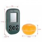 Portable Fish Finder Fishfinder w/ Sonar Sensor + Dot LCD Display