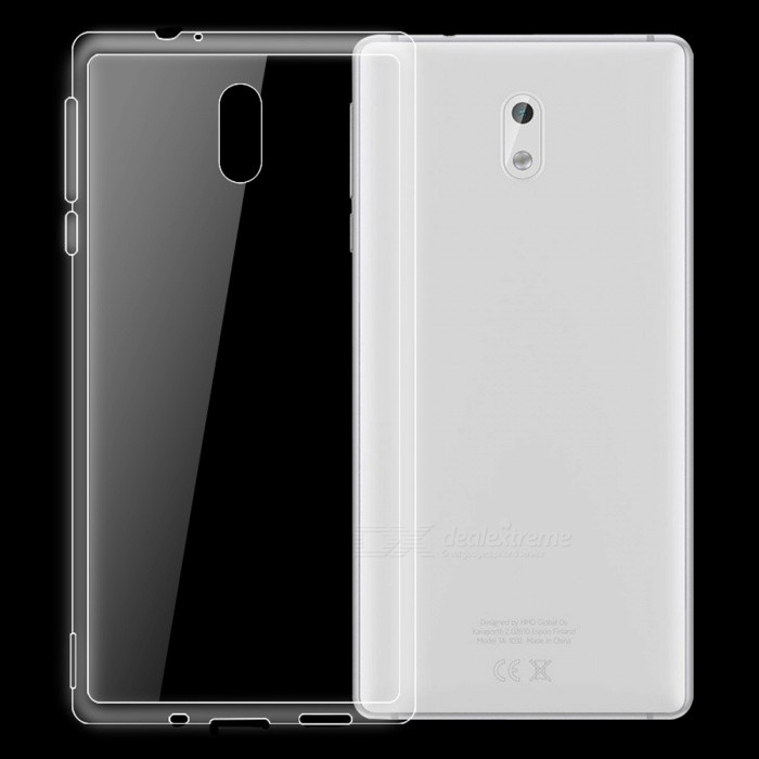 Dayspirit Ultra-Thin TPU Back Cover Case für NOKIA 3 - Transparent