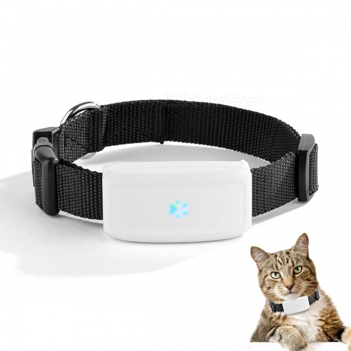 DMDG mini impermeable collar GPS anti-perdidos Tracker para mascotas