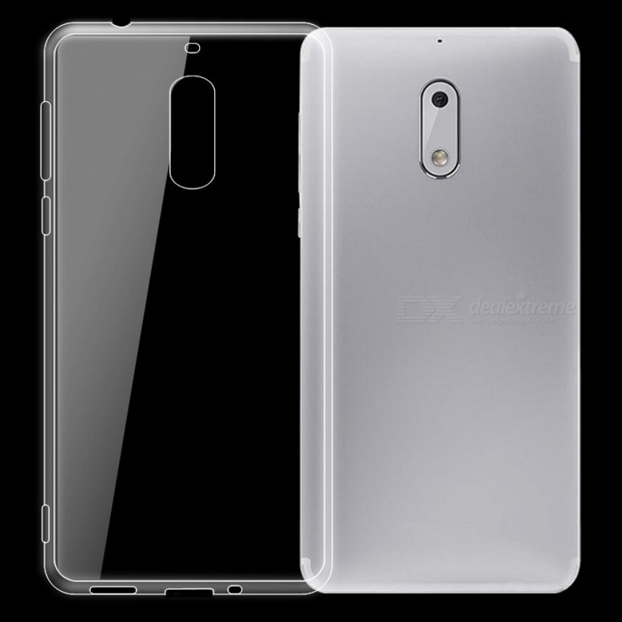 Dayspirit Ultra-Thin TPU Back Cover Case for NOKIA 6 - Transparent