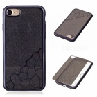 BLCR TPU Cell Phone Back Cover Case for IPHONE 7 - Black