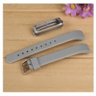 Outdoor Replacement Wristband Strap for Xiaomi Band 2 - Gray + Silver