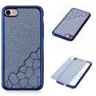 BLCR TPU Cell Phone Back Case for IPHONE 7 - Blue