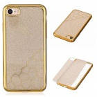 BLCR TPU Cell Phone Back Case for IPHONE 7 - Golden