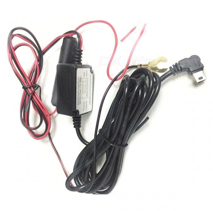 car driving recorder dvr power box w low voltage protection car driving recorder dvr power box w low voltage protection fuse