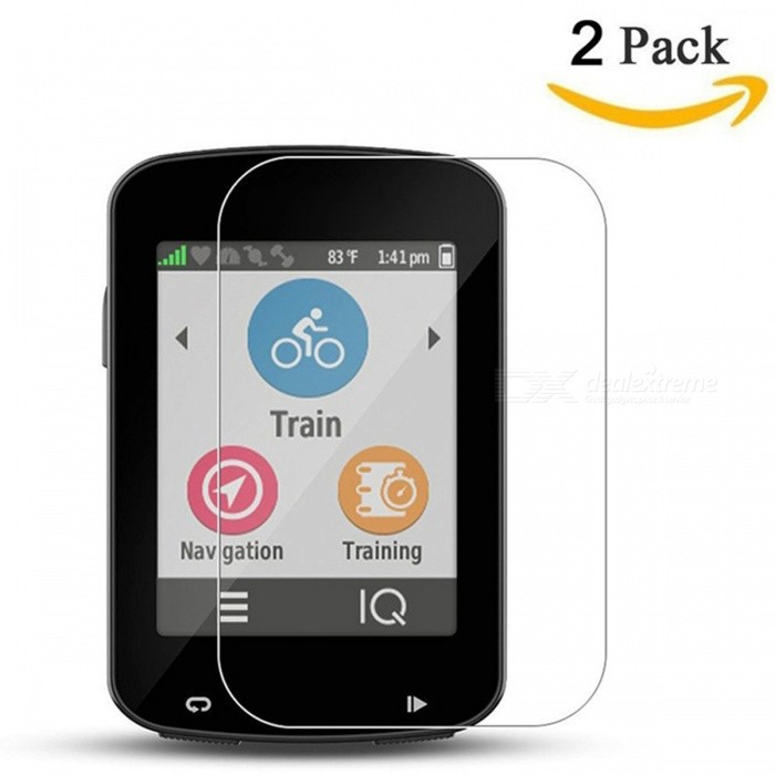 Miimall Tempered Glass Screen Protectors for Garmin Edge 820 (2Pcs)